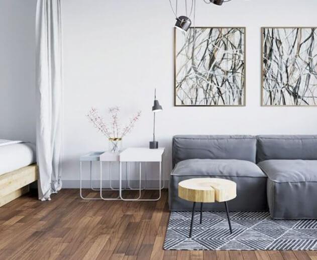 Aranżacja mieszkania na wynajem - Home Designers
